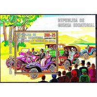 1976 Экваториальная Гвинея 884 / B228 Автомобили 7,00евро