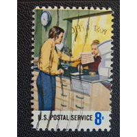 США 1973 г. Почта.