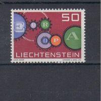 [515] Лихтенштейн 1961.Европа.EUROPA.