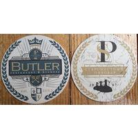 """Подставка под пиво """"Староместный пивовар - Butler"""" /Минск/"""