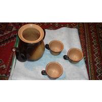 Набор кофейный чайный ссср без крышки