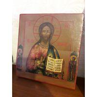 """Икона """"Иисус вседержитель"""", 19 век. торг"""