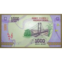 1000 ариари 2017 года - Мадагаскар - UNC