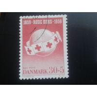 Дания 1959 Красный крест - 100 лет