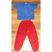 Пижама р. 128 махровая