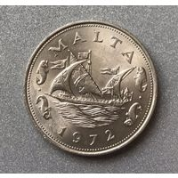 Мальта 10 центов 1972