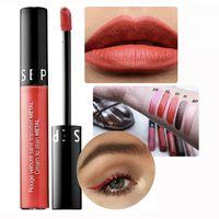 Sephora Cream Lip Stain Metal Помада 112 Red Magma