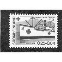 Финляндия. Корабль Красного Креста