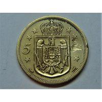 Румыния 5 лей 1930
