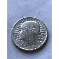 5 злотых 1934 - c  1 рубля