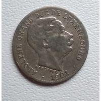 Люксембург 5 сантимов, 1901 6-3-7