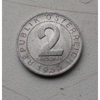 2 гроша 1954 г. Австрия
