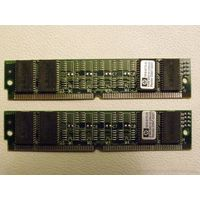 Модули оперативной памяти 16 MB Set 2x HP 1818-6172-01 8 MB 60 ns 72-pin SIMM