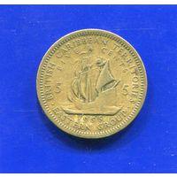 Карибские острова 5 центов 1955