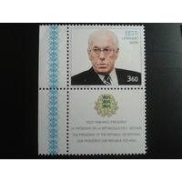 Эстония 1999 президент с купоном