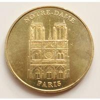 """Памятная медаль """"Собор Парижской Богоматери"""",  Франция"""