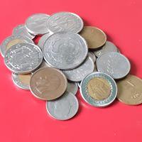 27 импортных монет