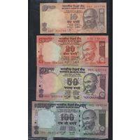 Рупии Индии фунт Египта
