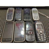 Мобильные телефоны в разбор nokia, motorola, siemens