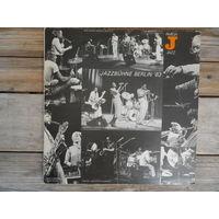 Y. Yamashita, K. Krog, J. Surman, Trio Bruninghaus-Stockhausen-Studer, H. Marvin Peterson Quartet, W. Fiedler Sextett u.a. - Jazzbuhne Berlin '83 - Amiga, ГДР