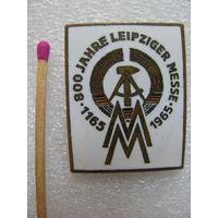 Знак. 800 лет Лейпцигской выставке. 1165-1965 (тяжёлый, эмаль)