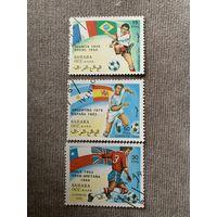 Сахара 1990. Чемпионаты мира по футболу. Марки из серии