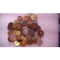 Монеты, сборный лот, не новые.   распродажа