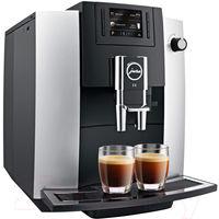Кофемашина Jura Impressa E6 Platinum новая