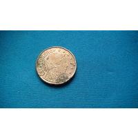 Люксембург 20 евроцентов 2002г . 1 распродажа