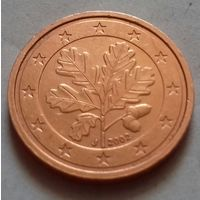 2 евроцента, Германия 2002 J, AU