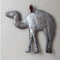 Ёлочная игрушка Верблюд картонаж