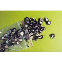 Резисторы подстроечные вертикальные PIHER серии PT15NH-10K