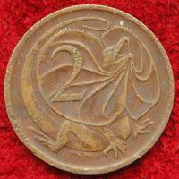7286:  2 цента 1977 Австралия