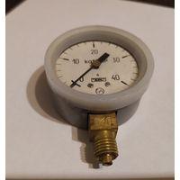 Манометр МТП-1М 0-40 кгс/см