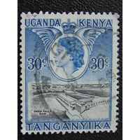 Кения Уганда Танганьика. Королева Елизавета II. Архитектура.