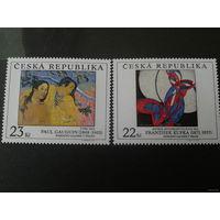 Чехия 1998 живопись серия **