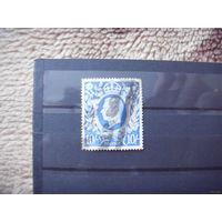 Старенькая марка Великобритании король Цумштейн 223