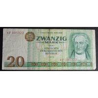 ГДР. 20 марок 1975