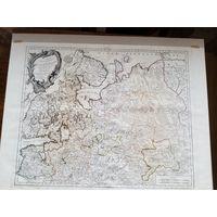 Карта России старинная