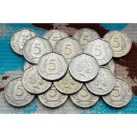 Карибы 5 центов. Восточные Карибские острова. Инвестируй выгодно в монеты планеты!