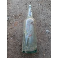 Бутылка от шнапса. Вермахт. Клейма.