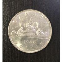 Канада 1 доллар 1968 / 1 dollar CANADA 1968