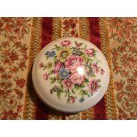 Шкатулка Цветы Франция винтаж