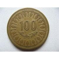 Тунис 100 миллимов 1983 г.