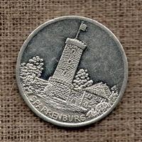 Medaille SPARRENBURG 1990 Stadtansicht Zinn 30mm PP # 75776