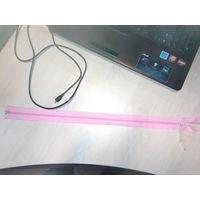 Молния 50 см розовая