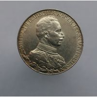 2 марки 1913 г.25 лет правления Вильгельма II.Пруссия.Серебро.торг!!!