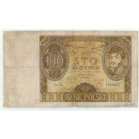 Польша 100 злотых 1934 год.