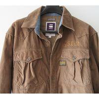 Рубашка G-STAR RAW вельвет накладные карманы вышивка Оригинал хлопок