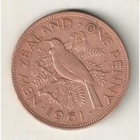 Новая Зеландия 1 пенни 1961